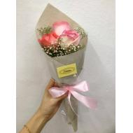 Mini Baby Breath With Pink ...
