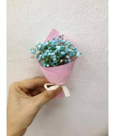 Baby Breath Blue Colour Packing Pink