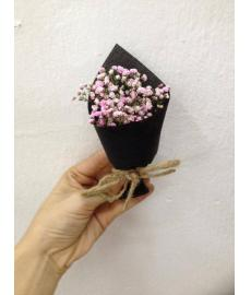 Baby Breath Pink Colour Packing Black
