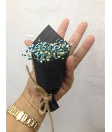 Baby Breath Blue Colour Packing Black